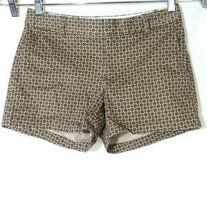 Banana Republic Shorts Women Size 6 Brown Tan